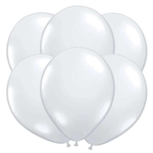 Palloncini In Palline Di Qualatex In Lattice Chiaro 40 Cm / 16 Pollici - Confezione Da 50 Pezzi Product Gallery Image