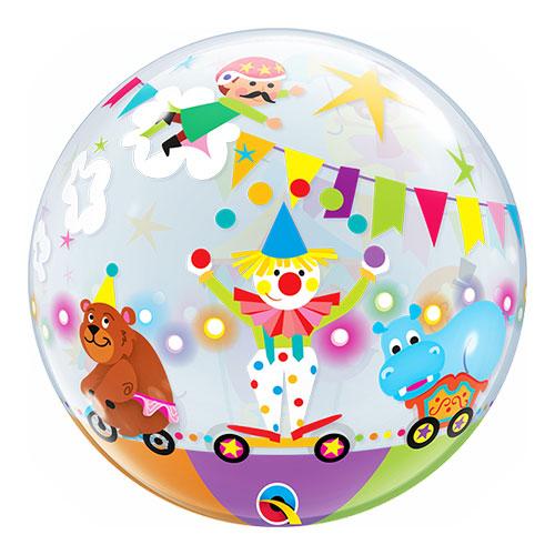 Défilé de Cirque Ballon Bubble Gonflage à l'Hélium Qualatex 56cm Product Gallery Image