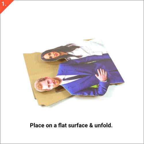 Felice Anno Nuovo Spot Design Bianco Grande Banner Personalizzato - 10Ft X 4Ft Product Gallery Image